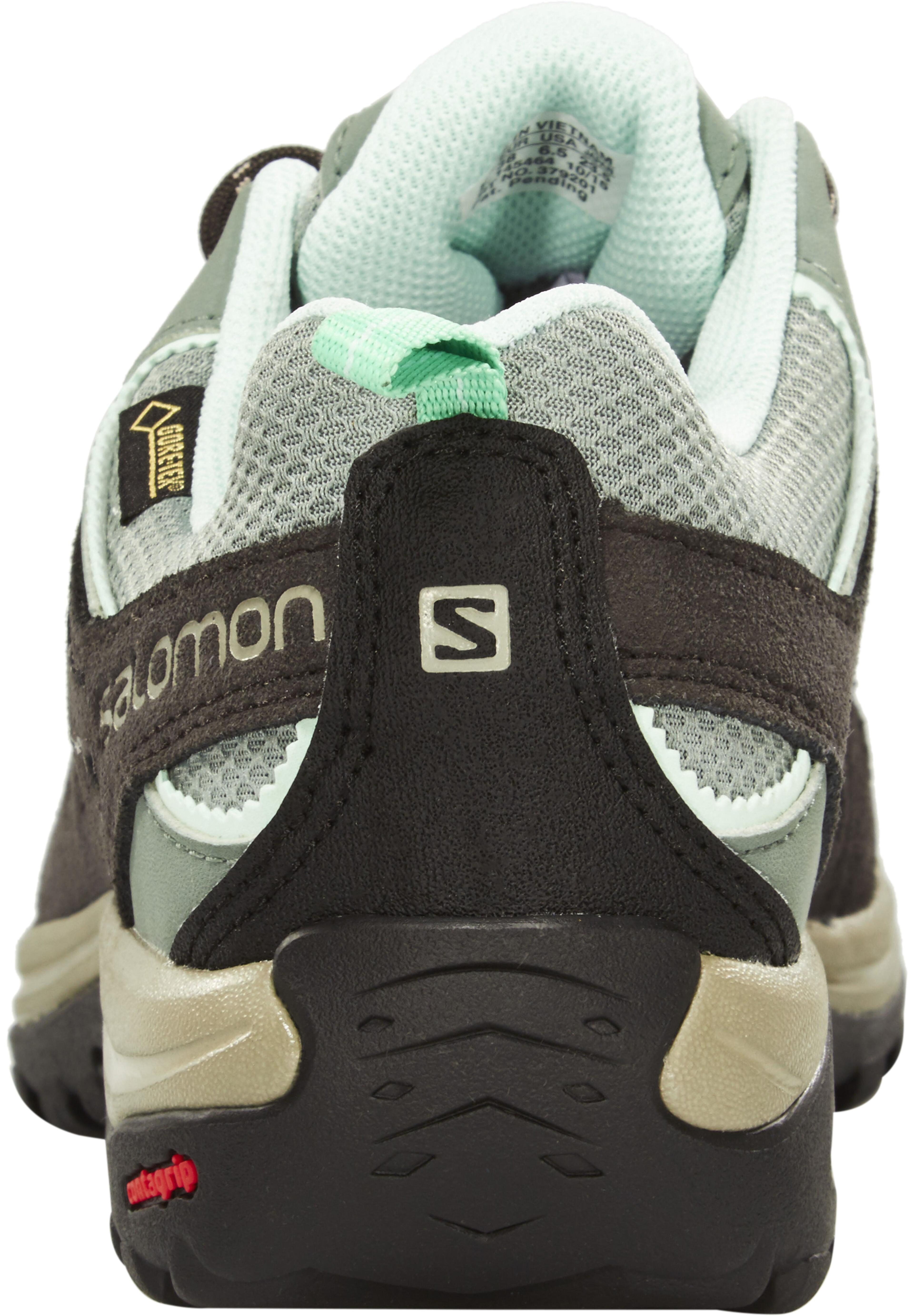 11a4c0381e5 Salomon Ellipse 2 GTX Schoenen Dames grijs/turquoise l Online ...